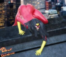 Spiderwoman by PGandara