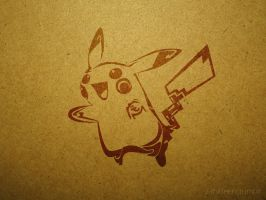 Tribal Pikachu by Noahmeta