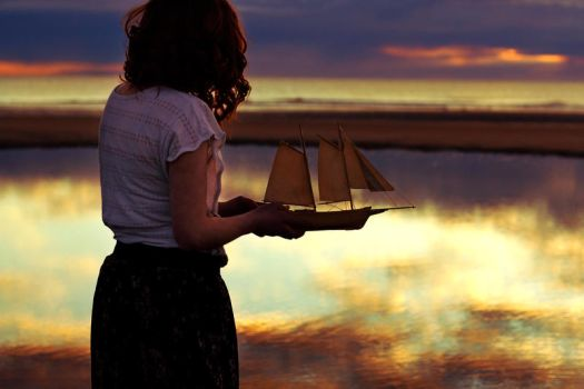 Sail Away to Neverland by pinkparis1233