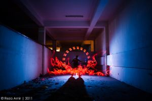 I am a light painter by syahrulreza