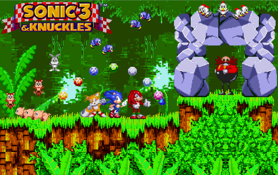 16. Sonic 3 and Knuckles by BeeWinter55