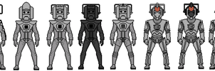 Evolution Of The Cybermen 2 by Stuart1001