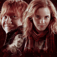 Ron Hermione Smile by N0xentra
