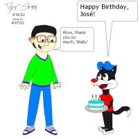 Jose-Ramiro Birthday card by JackassRulez95
