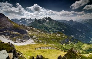 The Alps scenery II by mutrus