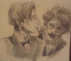Portrait, Holmes and Watson by AmberPalette