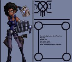 HadOne Piece OC Gadget timeship profile by ebony-chan