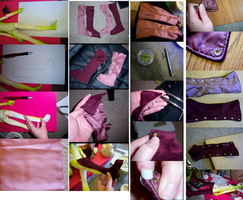 project 'butterfly elf' part 5: Boots 1 of 2 by napoleondolls