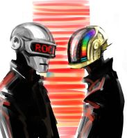 Daft Punk by MamonnA