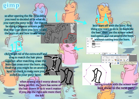 How to Use..... MLP Pony Base- GIMP Part 1 by TheYUO
