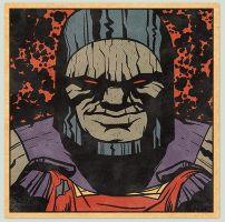 Darkseid Commission by MattKaufenberg