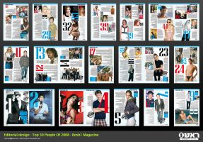 Editorial - Top 50 of 2008 by NoamM