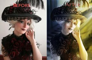 Before After 16 by FP-Digital-Art