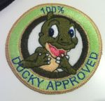 The Land Before Time Patch, Ducky by GrayTheZebra