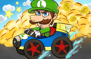 Luigi Death Stare by twillis
