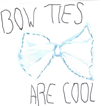 Bow ties are cool. by heywaitup