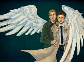 SPN: Commission by Moonlight-Mage-Shiro