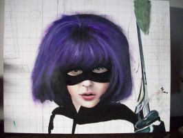 work still in progress. hit girl/ kick ass by pookielou