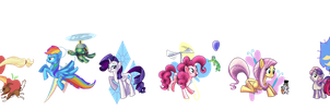 Everypony by Phantosanucca
