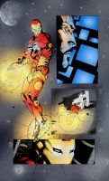 Iron-Man  Colored Page by Comicfanatic83