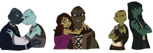 TMNT early Valentines by Lily-pily