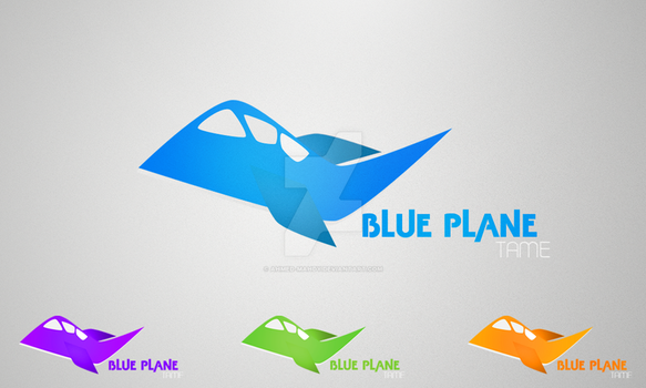 Blue Plane by AhMeD-MaHdY