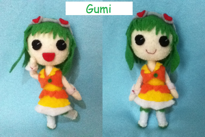 Gumi Plushie by ha-nata
