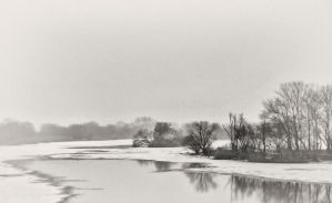 over the cold river VII by carrex