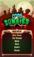 Cops vs. Zombies - Main menu by send2owais