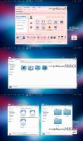 Blue Cool (k1000a09) theme iconpackager by k1000adesign