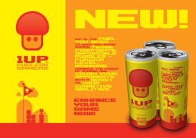 1UP: Fuel for Gamers by hazardu5