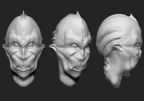 Z brush Sculpt by JosueMariscal