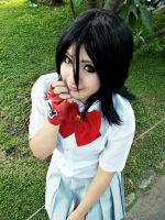 rukia cosplay october by yuki-sparda