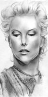 Charlize Theron by Fihril