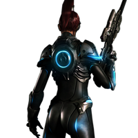 Sarah Kerrigan Render 2 by Moon-Rice