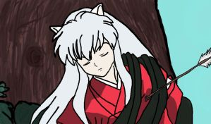InuYasha drawing by Megalomaniacaly