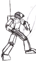 10047 battle stance by IrateResearchers
