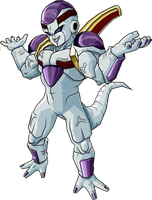 Baby Frieza 2nd form by legoFrieza