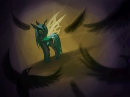 Queen Chrysalis by Mausefang