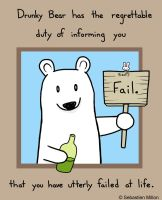 Fail Bear by sebreg