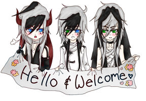 ~Welcome Trio~ by Cytuis