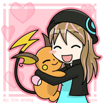 :Gift: Alex love Raichu by CrisUchiha