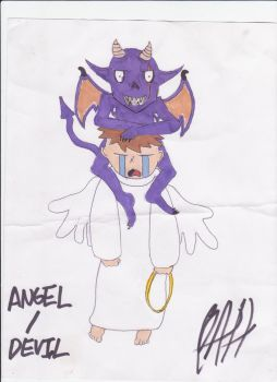 Angel-Devil by PimpDaddySlug