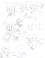 Some doodles for someone by MCBisthename