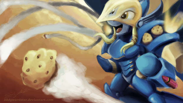 Pharah Muffins ( MLP x Overwatch Crossover) by eddywardster