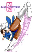 Chun-li the StreetFighter 2 by SUZUKI-Sarmon