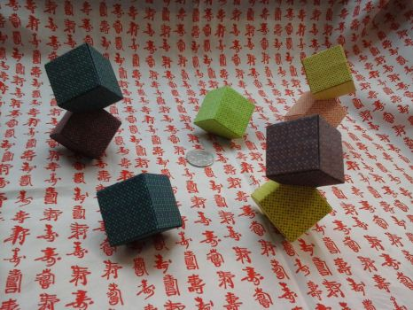 Dots Cubes by iDoux