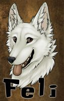 Feli Badge by Kitsune-Nyx
