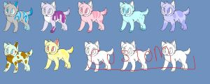 -OPEN- Pups batch! by Tsulas-adopt