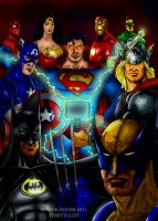 JLA/Avengers by terry312237